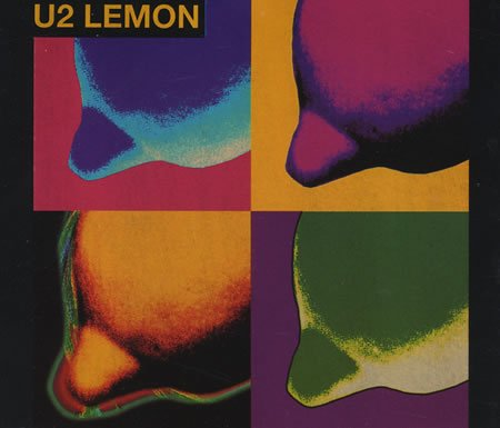 Lemon (4 Track Australian CD) by Island