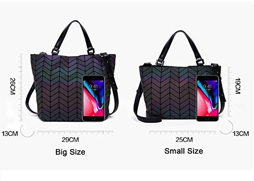 bandoulière Sacs femmes de à big géométrique à sac sacs bandoulière sac pliant main à rwS8xEqw