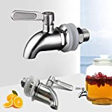 3 4 ball valve high pressure - NOFDA 304 stainless steel polished finished product,Beverage Dispenser Replacement Spigot,fits Berkey and other Gravity Filter systems as well