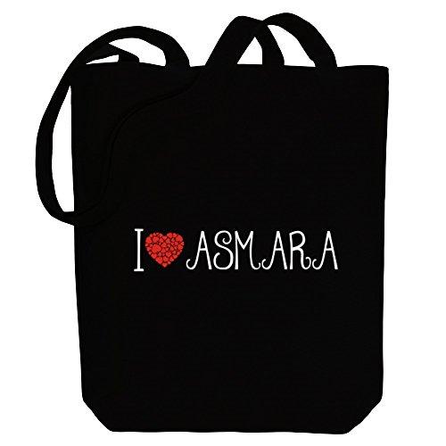 Idakoos I love Asmara cool style - Kapitale - Bereich für Taschen