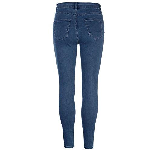 Pantalones Mujer Bl Jeggings Vaqueros Jean Washed Golddigga Light T7xpCw