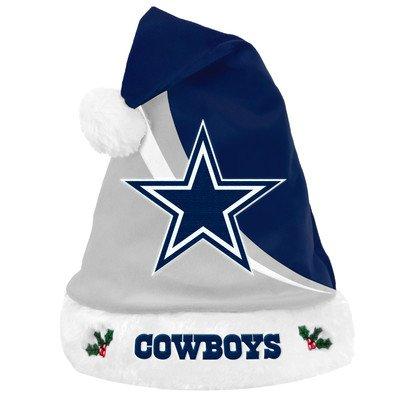 dfa0576bc5db65 Dallas Cowboys Swoop Logo Santa Hat – Football Theme Hats