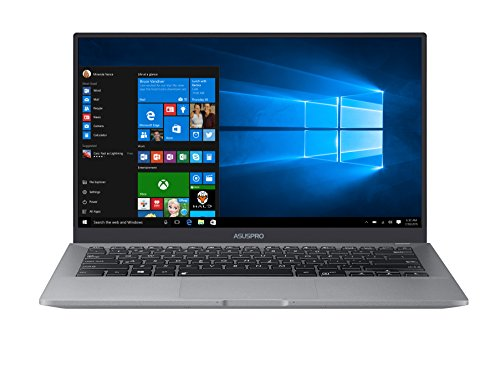 "ASUSPRO B9440 Ultra Thin and Light Business Laptop, 14"" Wideview FHD Narrow Bezel Display, Intel Core i7-7500U 2.7 GHz Processor, 512GB SSD, 16GB RAM, Windows 10 Pro, Fingerprint, 10hrs battery life (Ultra Narrow Bezel)"