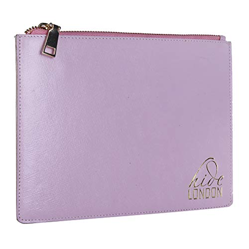 for Slim Evening Women High Personal Purse Leather Quality Bag Essentials Beauty Pink Pouch Hide Clutch London 64qOwI