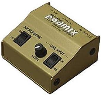 Passive PODMIX/-/Line and Mic Combiner//Mixer