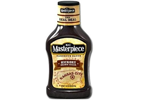 KC Masterpiece Hickory Brown Sugar Barbecue Sauce (Pack of 2) 18 oz Bottles - Masterpiece Wigs