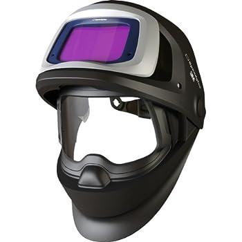 3M Speedglas Welding Helmet 9100 FX  with SideWindows and Standard Size Auto-Darkening Filter 9100V- Shades 5, 8-13, Model 06-0600-10SW