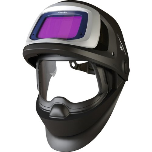 3M Speedglas 9100 FX Welding Helmet 06-0600-10SW, with SideWindows and ADF 9100V Shade 5, 8-13, 1 EA/Case