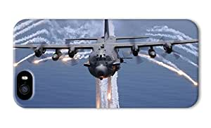 Hipster iphone 5S designer case Lockheed AC130H PC 3D for Apple iPhone 5/5S