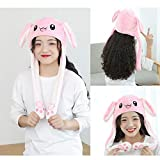 Fox Claw Rabbit Hat Ear Moving Jumping Hat