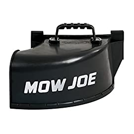 Sun Joe MJ401E-DCA Side Discharge Chute Accessory (for MJ401E + MJ401C Lawn Mowers) 5 Ideal for cutting taller grass Safely discharge clippings without clogging mower deck Durable polypropylene for reliable performance