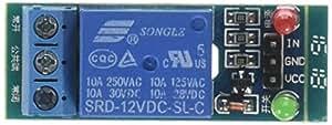 Sourcingmap - Cc 5v de un solo canal sin bajo nivel módulo de relé de disparo de salida nc