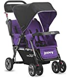 Joovy Caboose Too Ultralight Tandem Stroller, Purpleness (Discontinued by Manufacturer)