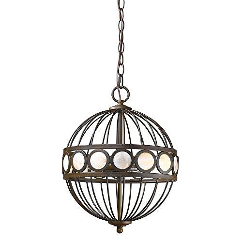 Acclaim Lighting IN11105ORB Aria Indoor 3-Light Pendant, Oil Rubbed -
