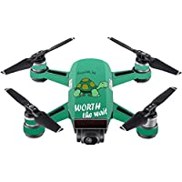 Skin For DJI Spark Mini – Late Turtle | MightySkins Protective, Durable, and Unique Vinyl Decal wrap cover | Easy To Apply, Remove, and Change Styles | Made in the USA