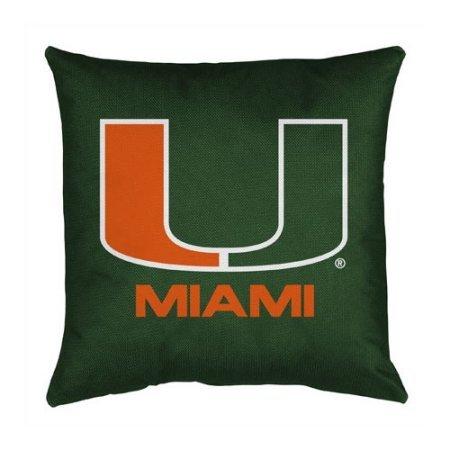 University Locker Room Pillow (NCAA University of Miami Locker Room 17
