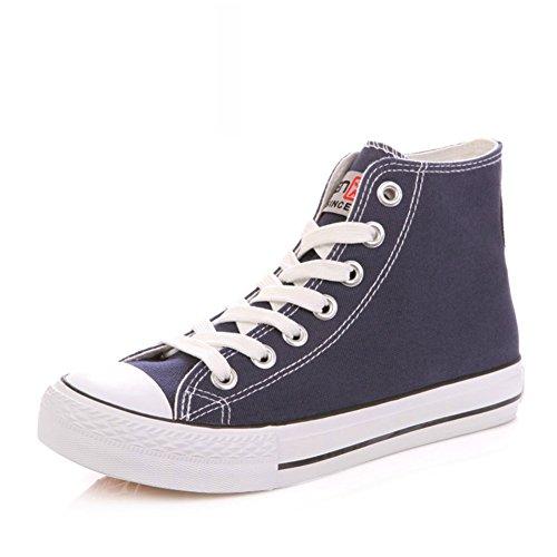 Zapatillas Primavera,Blanco Zapatos Flat-bottom,Estudiante Alta Clásica Pareja Zapatos,Zapatos Deportivos A