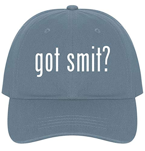 The Town Butler got Smit? - A Nice Comfortable Adjustable Dad Hat Cap, Light Blue