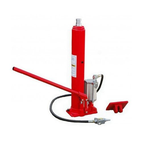 8 Ton Long Ram Air Pump Hydraulic Jack Cherry Picker Shop Lifts 16000 Pounds ideal to lift trucks, lawnmowers, farm vehicles and more hassle free by Unknown