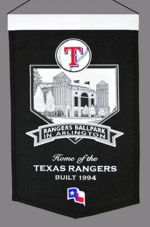 MLB Texas Rangers Rangers Ballpark Stadium Banner