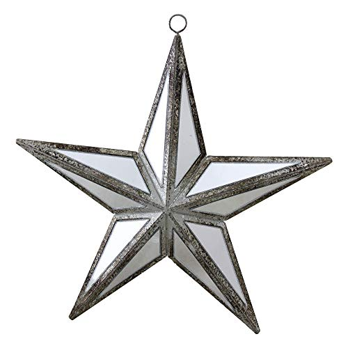 Northlight Mirrored Five Point Star Christmas Ornament, 5.75