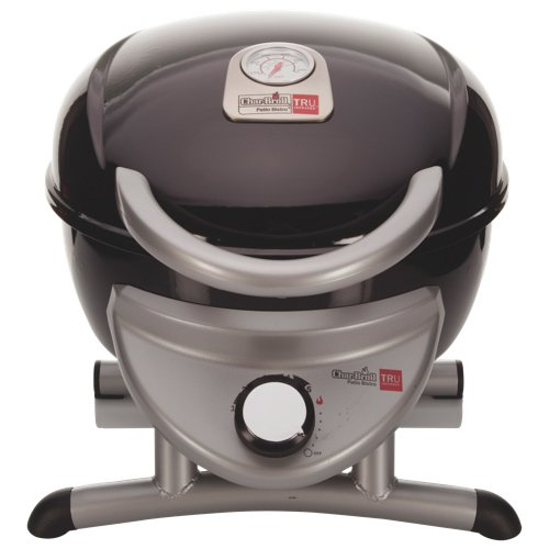 Char-Broil TRU-Infrared Electric Table Top Bistro Grill 180 in Black/Silver by Char-Broil