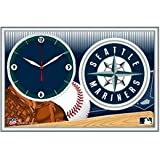 Seattle Mariners Framed Clock