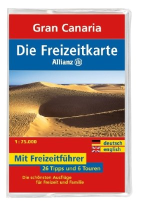 Die Allianz Freizeitkarte Gran Canaria  1:75 000