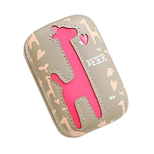Travel Portable Contact Lens Case Cute Giraffe Eye Care Kits Box#05 (Cheap Coloured Contact Lenses)