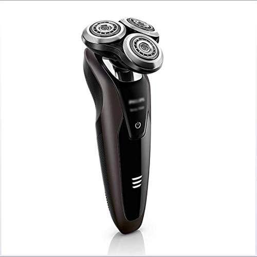 DYS@ Afeitadora eléctrica, afeitadora eléctrica Recargable IPX7 a ...
