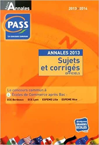 Livre audio téléchargement gratuit Annales du concours PASS : Sujets et corrigés officiels 2759023435 PDB