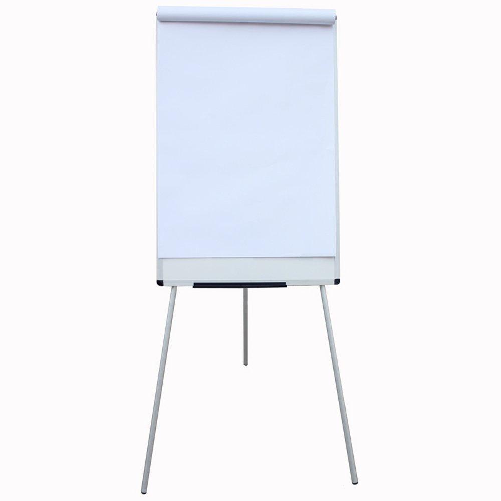 VIZ-PRO Light Magnetic Tripod Whiteboard//Flipchart Easel,24 W x 48 L