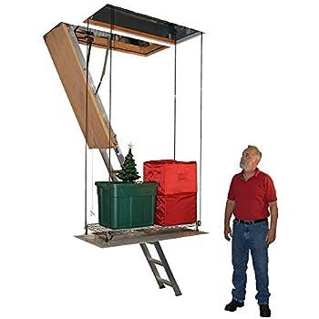 Versa Lift 32wh 11 14 Foot Attic Lift Platform Garage