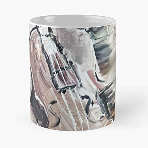 Abstract Traditional Violin Brown - 11 Oz Coffee Mug- Unique Holiday (Best Traditional Violin With Cases)
