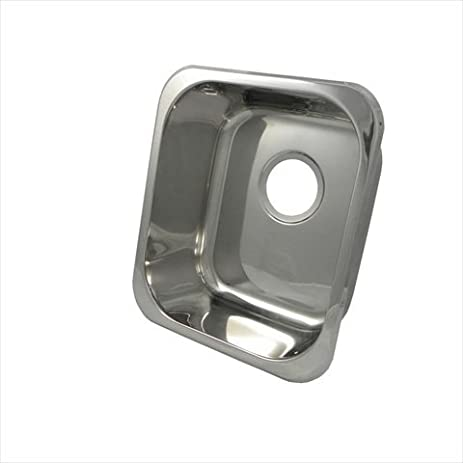 16u0026quot; X 14u0026quot; Rectangular Bar Sink Finish: Polished Stainless Steel