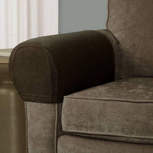 Pixel Stretch Fabric Furniture Armrest Cover