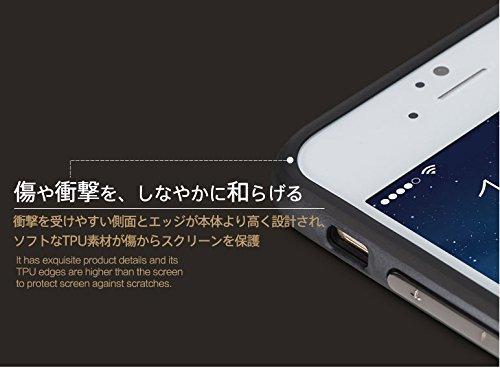 Caja de la roca para Iphone 6 / 6s 4.7Or 6Plus / 6s más el caso 5.5 , soporte de Royce de la roca Anti-rasguño de la protección de gota ultra fino Kickstand PC + TPU caso para 6 / 6s o 6plus / 6s  Gold