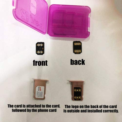 TM KuierShop 1Pc Unlock Turbo SIM Card for Phone 7 6s 6 Plus 5 LTE iOS 11 10.3.3 GPP R