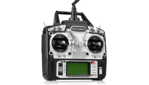 GoolRC FS-T6 High Precision 2.4GHz 6CH Mode 2 Transmitter W/Receiver R6-B for RC Multirotor Quadcopter Helicopter Airplane Glider Car