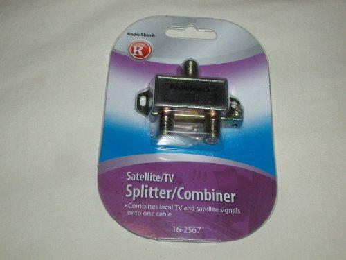 Radioshack RADIO SHACK SATELLITE/TV SPLITTER/COMBINER