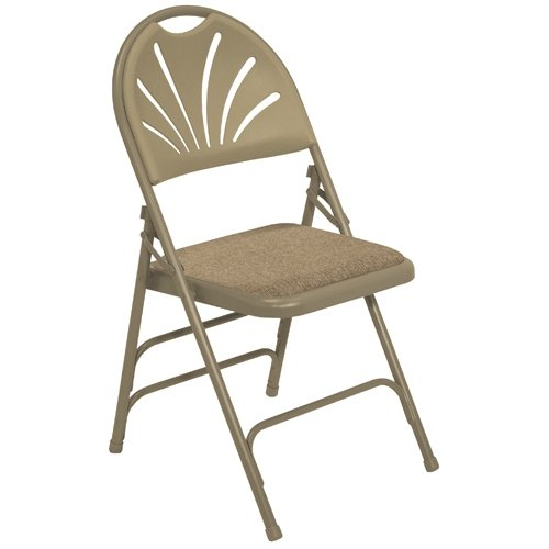 fan back folding chairs - 8