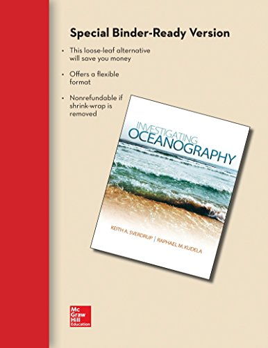 Loose Leaf Version for Investigating Oceanography with Connect Access Card