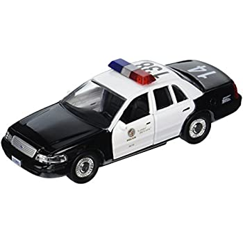 Amazoncom Daron LAPD Crown Vic Police Car Scale Toys Games - Police car