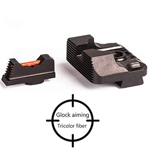 ARWIN Fiber Optic Sight for Glock, Robert Vogel, Bob Vogel, Including: 17,19,22,23,24,25,26,27,28,31,32,33,34,35 (Glock 22 Gen 4 Tungsten Guide Rod)