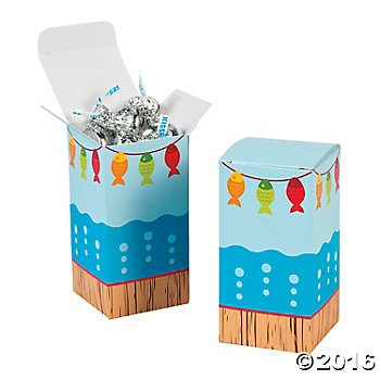 Little Fisherman Party Favor Boxes product image
