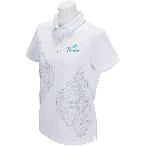 ブリヂストン PARADISO 半袖シャツ?ポロシャツ 半袖ポロシャツ レディス ホワイト M