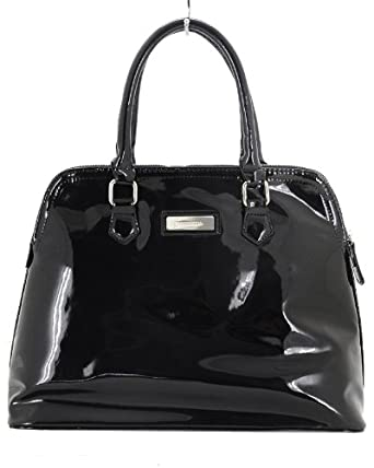 Ladies Black Patent Handbags | Luggage And Suitcases
