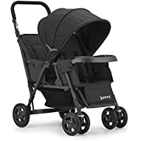 Joovy Caboose Too Graphite Stand-On Tandem Stroller (Black)