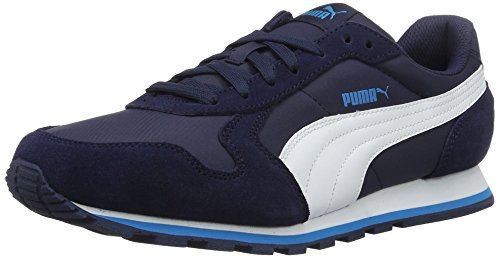 Puma Unisex-Erwachsene St Runner NL Low-Top, grau, Blau