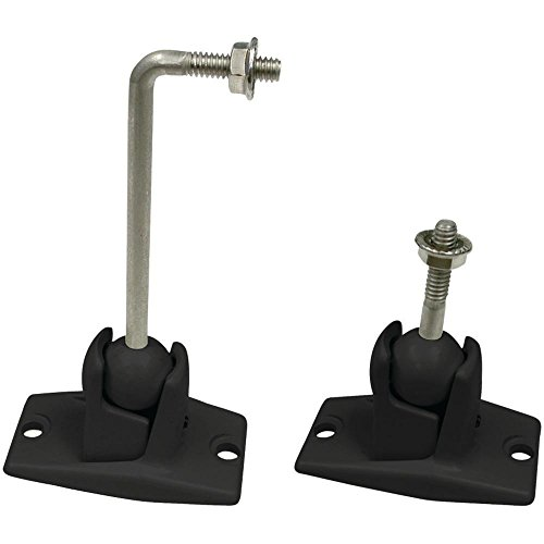 Speaker Mount w/ Ceiling & Wall Ball Shaft, 10-lb Weight Capacity (Brackets Wall Omnimount)